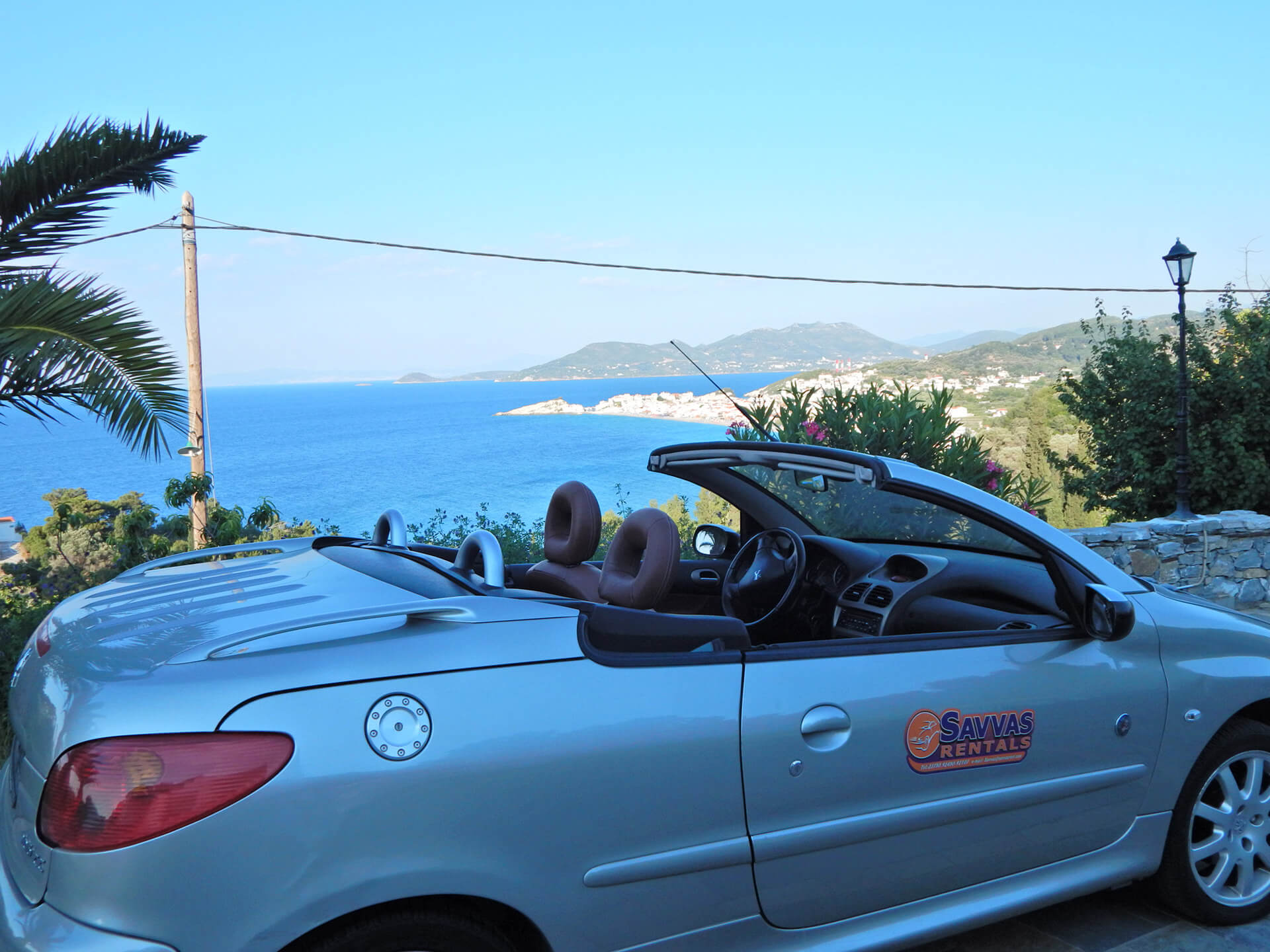 Peugeot 206 Cabrio - Savvas Rent a Car